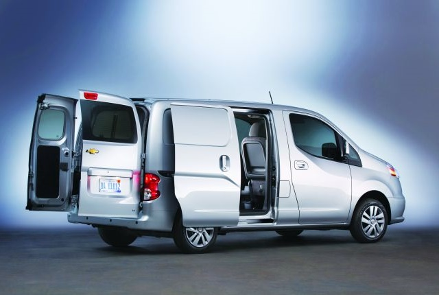 Photo of Chevrolet City Express courtesy of General Motors.