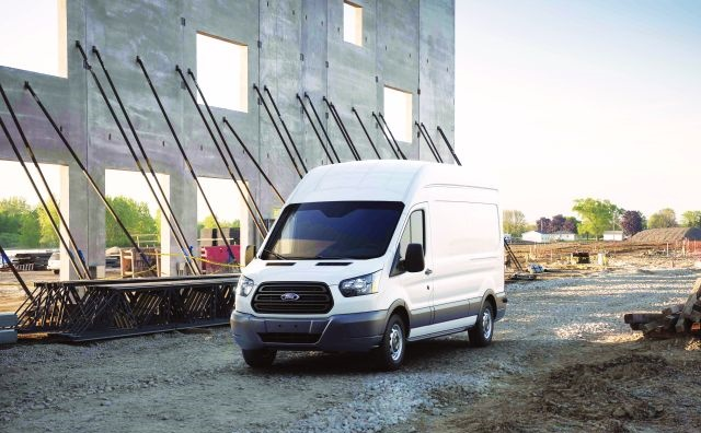 Photo of Transit full-size van courtesy of Ford.