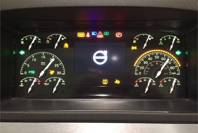 a completely new, modern dash allows drivers to easily configure the Driver Information Center to provide information they deem critical.  Photo: Jack Roberts
