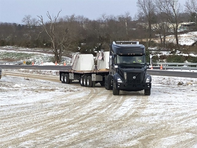 Volvo's new VNX heavy-haul tractor blends the company's cutting edge tech with tough equipment. Photo: Jack Roberts