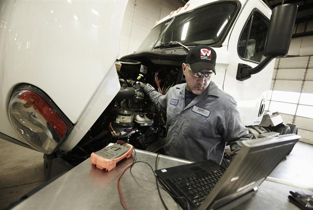 Linking the shop with the telematics system can minimize downtime. Service providers can identify the problem before the truck even gets to the shop.