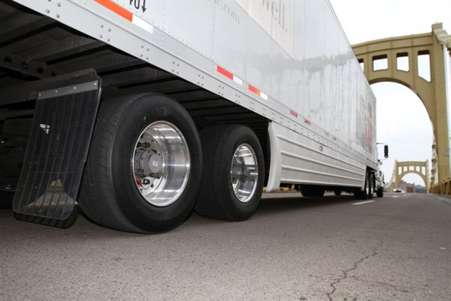 Trailers seldom get the maintenance they deserve, so it's not surprising that tires don't fare well. Photo: Goodyear