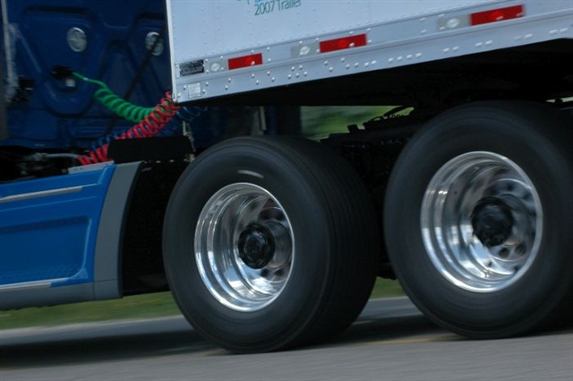 Wide base tires are thought to suffer premature wear. That's sometimes the case but it's not universally true.