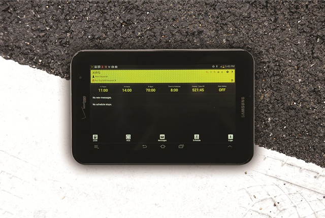 Verizon was named the official wireless provider for the XRS collaboration with Samsung Mobileto offer a new product that includes a Samsung Galaxy Tab 2 7-inch tablet and a subscription to XRS's fleet management software.