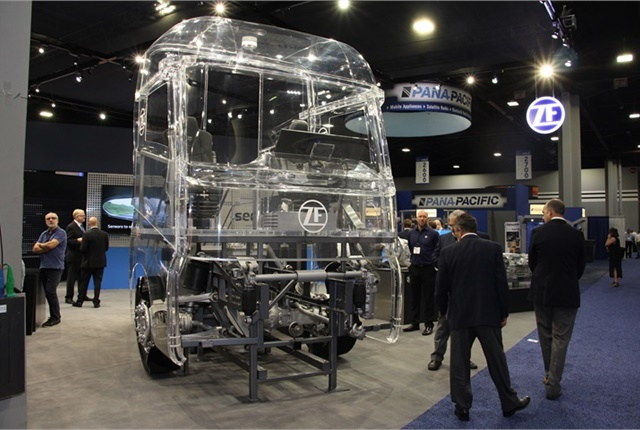 ZF is leveraging technologies from around the world to make commercial vehicles safer, Mitja Schulz said in an exclusive interview with HDT. Photo: Jack Roberts
