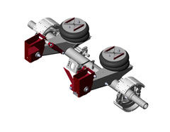 RideMaster suspensions are specifically designed for heavy-duty, fixed-axle applications.