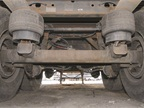 Pounds can be shed on parts underneath the trailer including landing gear, suspensions, axles and fifth wheels.