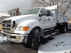 The F-650 offers the same cab choices as other Super Duty trucks. This