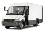 Reach walk-in van has an impact-resistant Utilimaster composite body