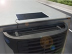 Carrier Transicold's Thin Film Flexible Solar Panels are