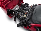 Photo of 2019 Silverado 6500HD engine compartment courtesy of