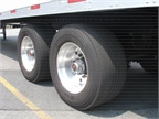 Trailer alignment is more important than ever when you run wide-base tires. HDT file photo
