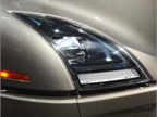 Stylish and bright LED headlights clearly come from Volvo's