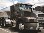 The Mack Anthem daycab. I drove this truck about 500 miles on the