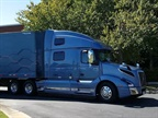 Volvo's flagship VNL 860 sports a 77-inch high-roof sleeper and