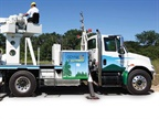 Many of Odyne's hybrid systems go into utility service trucks,