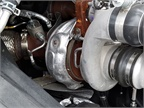 The new variable geometry turbocharger eliminates a cooler from the