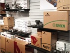 Meritor displayed its new AllFit, Green and Genuine packaging at HDAW. The company borrowed from the retail market for the shock absorber packaging.