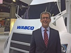 Wabco's Jon Morrison at the North American Commercial Vehicle Show earlier this fall. Photo: Deborah Lockridge