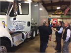 NRS shared with their insurance company how the SmartValve reduces driver injuries by conducting a live demonstration with the assistance of Rush Truck Centers.