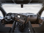 New Cascadia Elite Interior Cockpit Package shown in Saddle Tan and