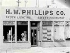 The original name of the company was H.W. Phillips Co. Photo: Phillips Industries