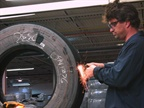The first, and most crucial step in any tire repair process is to