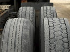 Deep lug tires designed for traction may wear faster than rib tires on