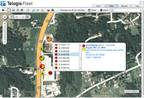 Here's a screen capture from the Telogis Fleet Platform with Management Alerts.