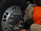 Watch for drivers who deflate steer tires to 90 psi thinking it will