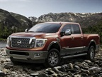The 2016 XD's exterior styling will be shared with a gasoline-engine XD and with regular Titans. Thanks to lower spring and shock rates than on ¾-ton pickups, an XD rides better over pavement and rough terrain. Photo: Nissan NA