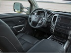 The Pro-4X interior is middle of the line; there are two plainer and
