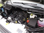 There's no top shroud, so much of the EcoBoost 3.5 V-6 is