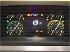 a completely new, modern dash allows drivers to easily configure the
