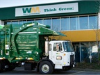 Waste Management is considered a pioneer in the use of natural gas to fuel refuse trucks and averages more than 8 mpg for over the road trucks, with some units achieving 10 mpg.