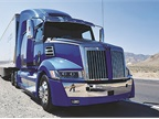 Western Star's 5700XE flagship highway tractor can be