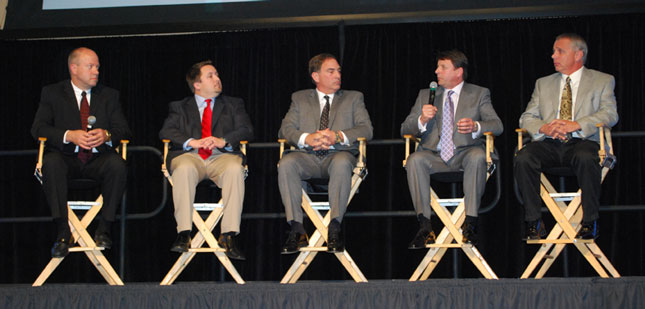 Innovators, from left, Clouser, England, Baumann, Burg and Johnson.