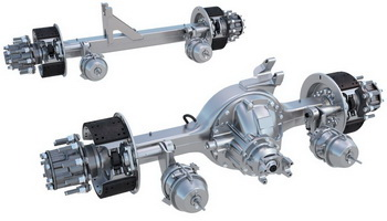 Use of 6x2 tandems with only one powered axle, like Meritor's FueLite, could grow to six times the current rate, the company thinks.