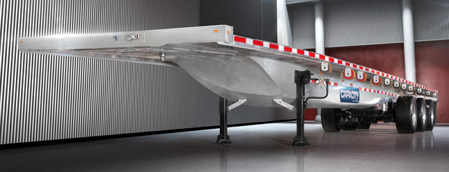 Monocoque Lightweight Flatbed Will Carry More Maybe