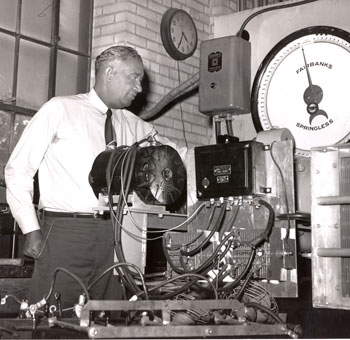 Weight was a problem even when Fred Jones invented his early transport refrigeration equipment, and he found ways to wring out many pounds from Thermo King units while making them hold up to road vibrations.
