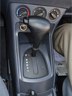 The Transit Connect shifter.