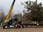 Christmas Tree, Trucking's Image Make Way to Capitol for Holidays