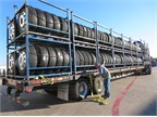 Curtainside Trailers Made for Alley Delivery