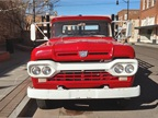 A Flatbed Ford Is on the Corner in Winslow, Arizona