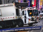 Trucks Block Possible Terrorism in D.C., New York City