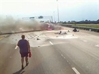 Fiery Crash Video Paints Portrait of Brave and Caring Truckers