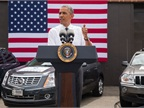 President Touts Smart Highways and Vehicles in Infrastructure Push