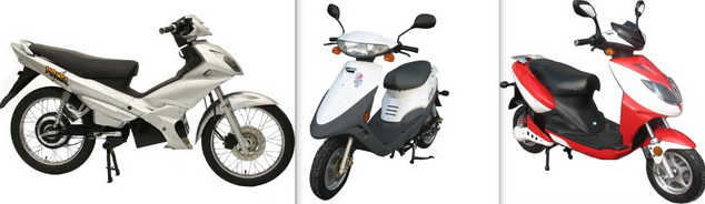 Motorcycle or bicycle: can you tell the difference?
