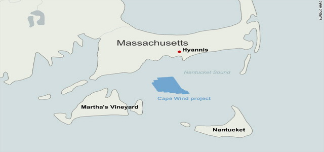 More than 100 windmill pilons standing 440 tall in the middle of Nantucket Sound pose no threat to navigation, the FAA says. Tell that to a VFR pilot on approach to Martha's Vinyard in crummy weather.