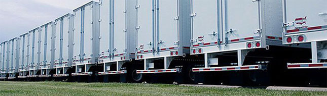 Wabash dry van trailers were the top brand in new registrations tracked by Polk.